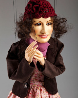 The Lady - marionette inspired by the Kid movie (Charlie Chaplin)