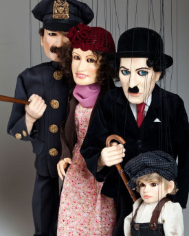 Charlie Chaplin Marionette Collection