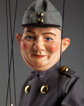 Soldier Švejk - easy-to-play puppet