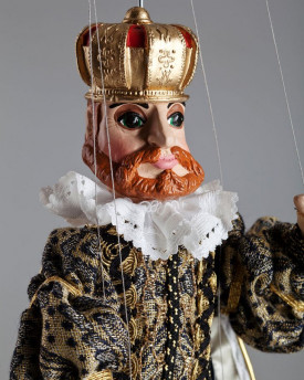 King Rudolf - a fairy-tale marionette