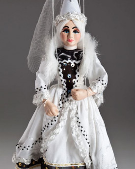 White Lady Marionette - TEMPORARILY SOLD OUT