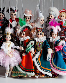 Fairy Tale Collection of Marionettes