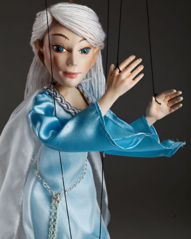 Calven White-haired Elf – romantic marionette