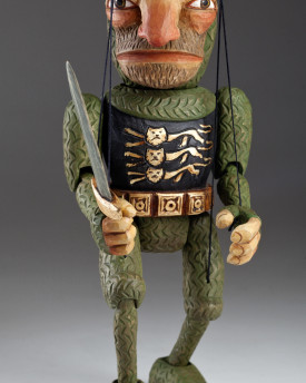 foto: Knight Adrian Wooden Hand Carved Marionette