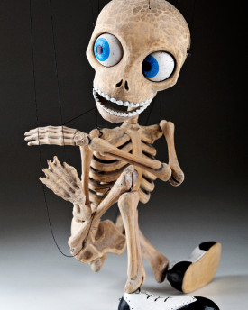 Special unique skeleton carved by Aleš