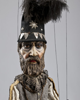 Astronomer - antique marionette