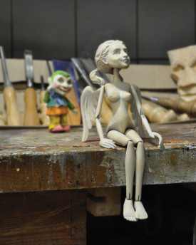 Make your marionette with Adan and Aleš - 7 days course