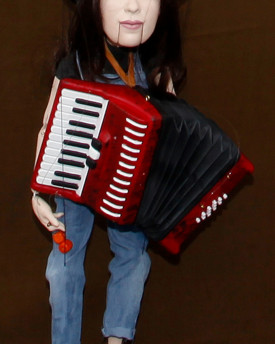 Accordion model for 3D printing