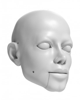 3D Model of Michael Jackson head for 3D printing